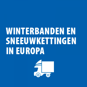 Regelgeving winterbanden bedrijfswagens