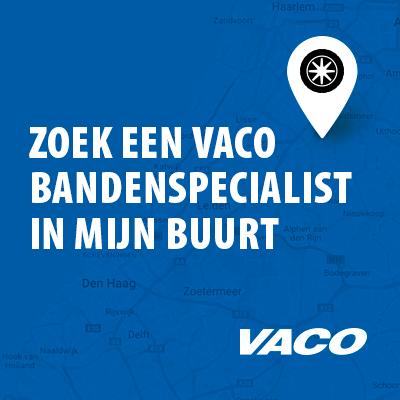 Zoek een VACO bandenspecialist