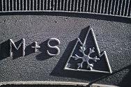 sneeuwvloksymbool en M+S codering